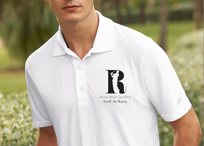 Golf club branding
