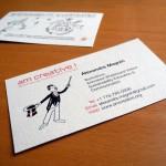 Business Cards Alexandre Magnin