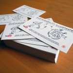 Business Cards Sustainability Illustrated