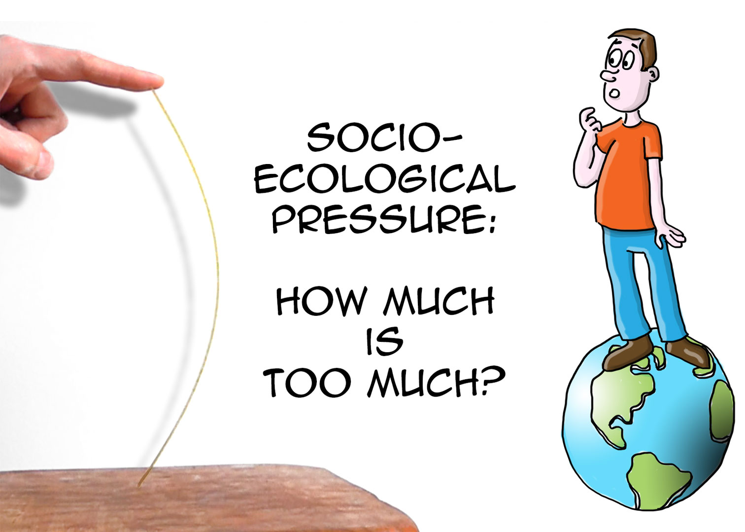 Sustainability: the threshold explained in 20 seconds (spaghetti analogy)