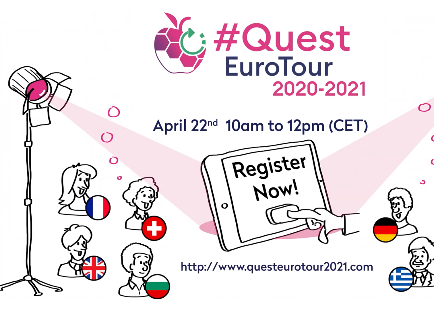 Quest Euro Tour for sustainable agriculture