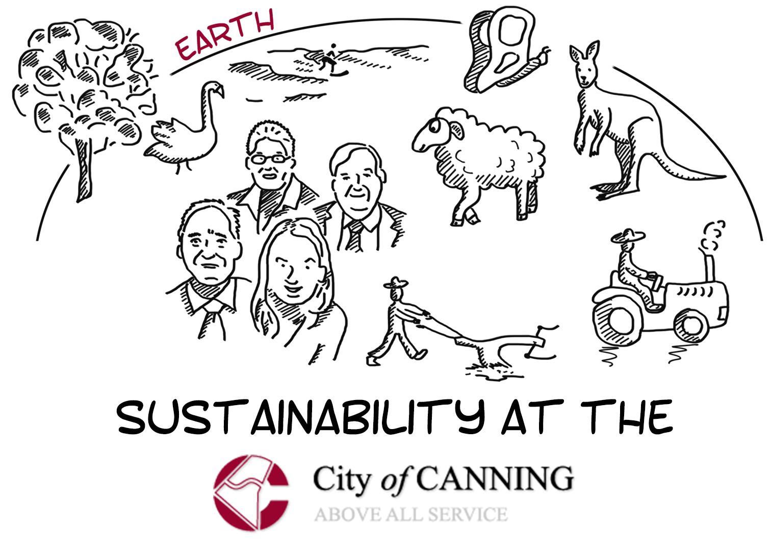 Développement durable à la ville de Canning (Australie)