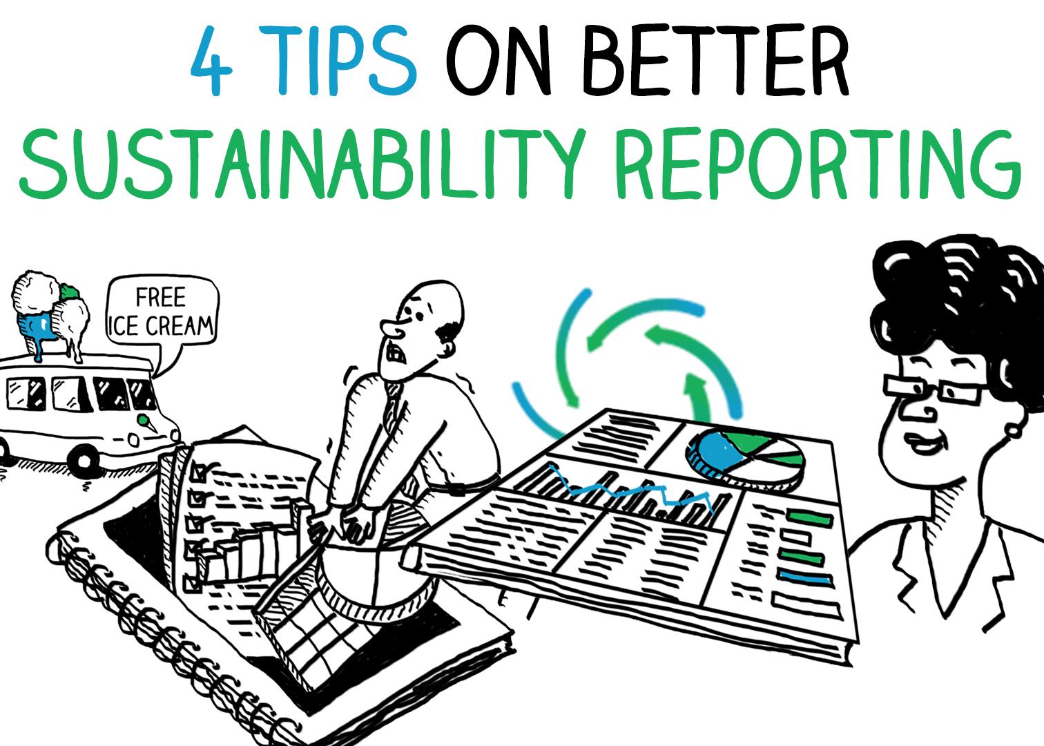 Rapports de développement durable: 4 conseils
