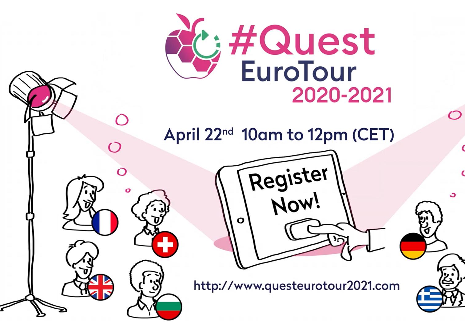Quest Euro Tour pour une agriculture durable